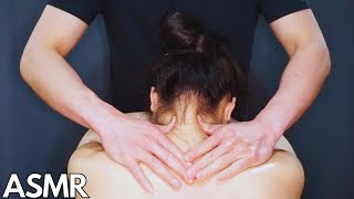 ASMR Shoulder and Neck Massage (No Talking) Relaxing and Sleep | Kitman ASMR
