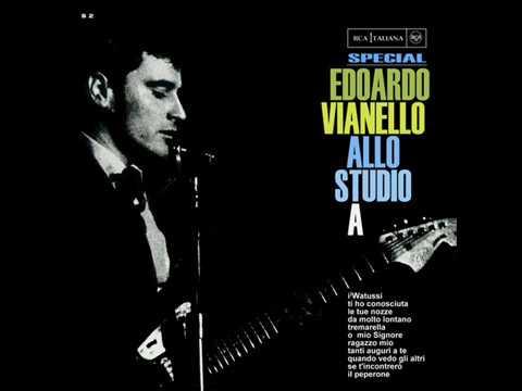 EDOARDO VIANELLO ALLO STUDIO A LIVE 1965 ORIGINAL FULL ALBUM I RARISSIMI