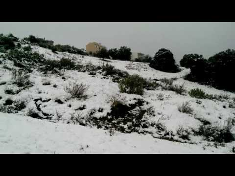 Elikistra patra Greece snowing 7/1/17