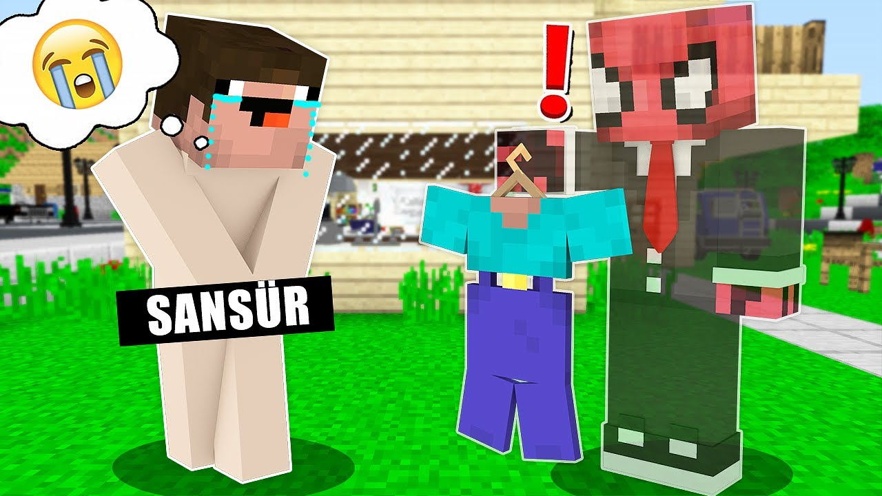 GÖRÜNMEZ OLUP NOOB'U TROLLEDİM! 😂 - Minecraft