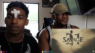 21 Savage All The Smoke Official Music Video REACTION