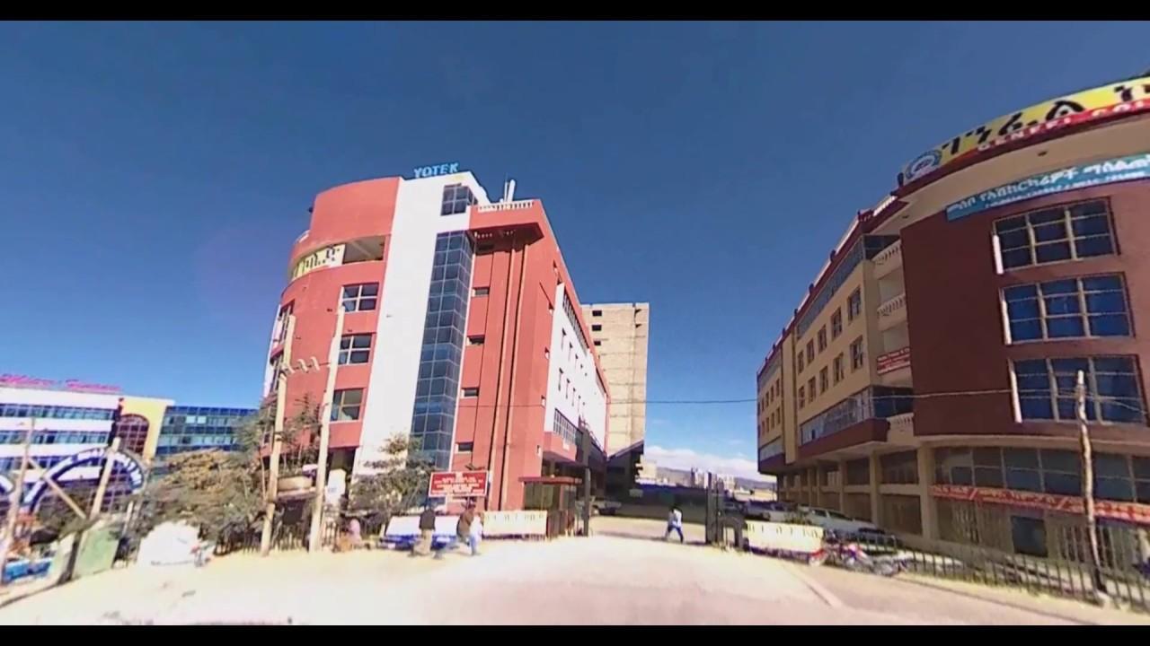 Mekelle City Roads and Buildings View 2017 TigraYTube  Video 4K