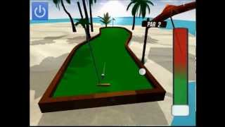 Beach mini golf gameplay (game on android / iphone / ipad)