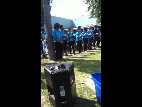 Bell middle school Filipino dance