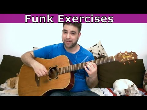 6 Funk Exercises for Rhythm Freedom - Guitar Lesson Tutorial