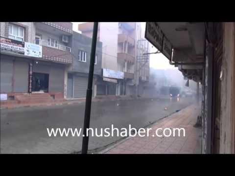 Nusaybin'de olaylı gün