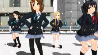 【MMD】 21人+1人で、メグメグ☆ファイアーエンドレスナイト【1080p】 thumbnail