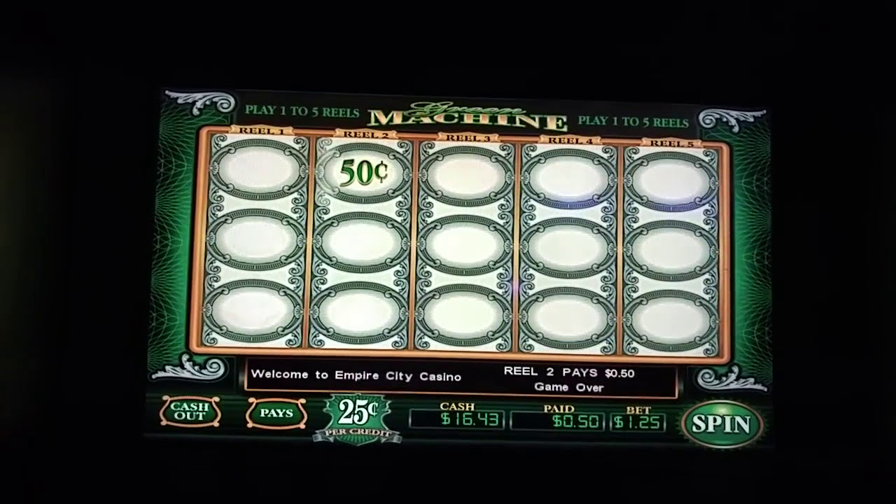 The Green Machine Slot Machine
