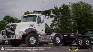 2013 MACK GU 613 ROLL OFF TRUCK FOR SALE