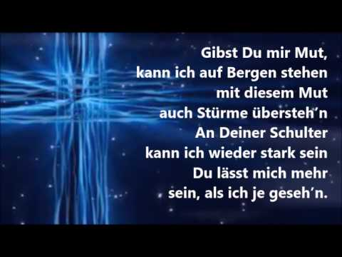 You raise me up - Karaoke deutsch, religiöse Version