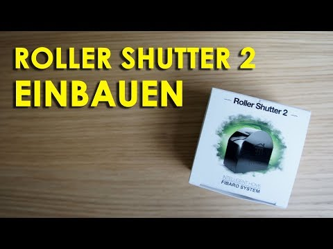 Fibaro Roller Shutter 2 Einbau