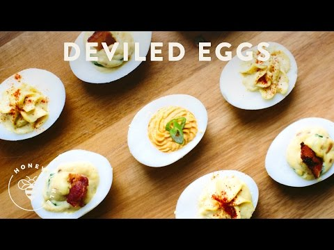 3 Deviled Eggs Recipes for your next Party - Honeysuckle