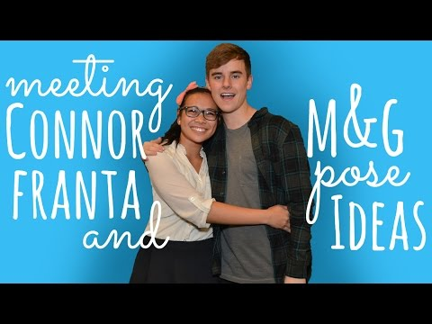 Meeting connor franta meet and greet pose ideas simplymaci meeting connor franta meet and greet pose ideas simplymaci m4hsunfo