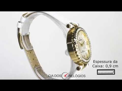 bf37e57c46f Kit Relógio Champion Troca Pulseira Feminino CN287 - YouTube