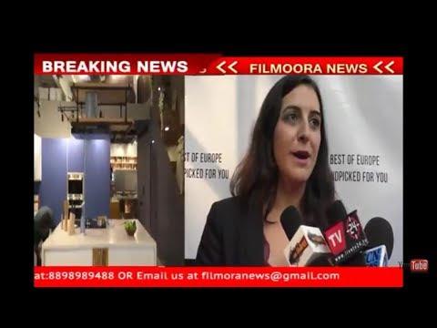 Ms Anna Morera -At Wurfel Kuche Showroom Launch In Mumbai
