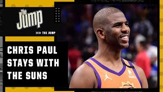 Reacting to Chris Paul re-signing with the Suns for 4-year/$120M deal