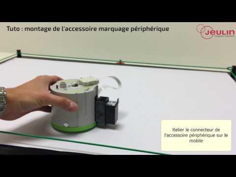 Tutoriel de montage de l'accessoire marquage périphérique - Jeulin TV - Jeulin