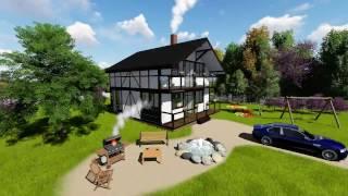Проект дома в стиле фахверк Fachwerk 137(, 2017-02-08T20:30:44.000Z)