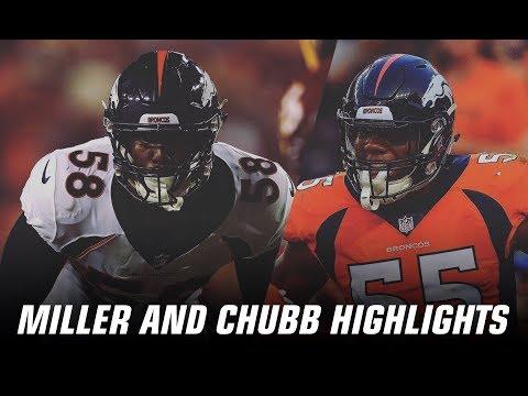Von Miller and Bradley Chubb | 2018 Highlights