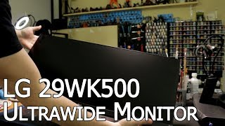 LG 29 Inch 21:9 UltraWide Monitor 29WK500 price in Kuwait