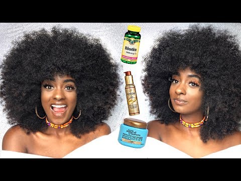 Hair Products that Make Your Hair GROW FASTER, LONGER, and STRONGER | Natural Hair