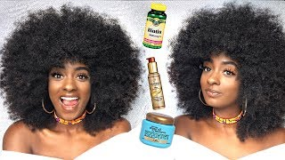 Hair Products that Make Your Hair GROW FASTER, LONGER, and STRONGER   Natural Hair