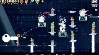Angry Birds StarWars Killing Vader