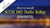 How to Upgrade SCCM 1902 Production Version - Upgrade SCCM CB
