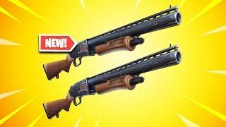 the DOUBLE PUMP Shotgun is BACK in Fortnite..