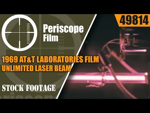 1969 AT&T LABORATORIES FILM  LASERS UNLIMITED  LASER BEAM HISTORY  49814