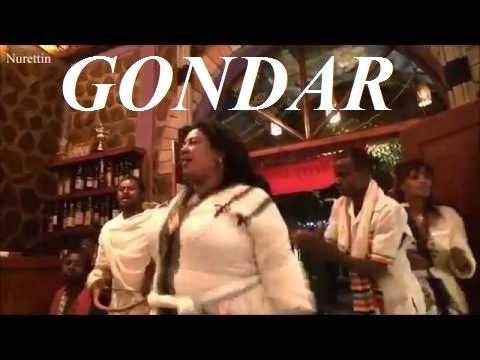 Ethiopia-Gondar '4 sisters' music & dance  Part 74