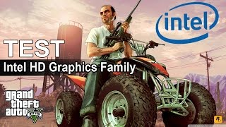 GRAND THEFT AUTO 5 (GTA V) - Intel HD Graphics Family