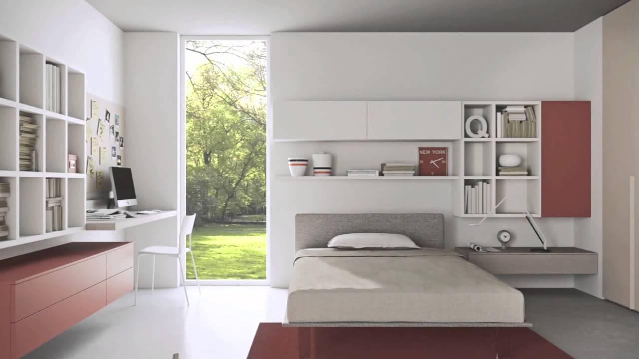 Modern Teenage Bedroom Ideas - YouTube on Teen Room Designs  id=14459