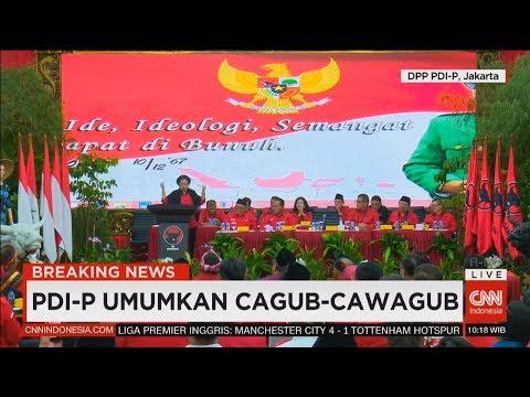 Ini Jagoan PDI Perjuangan Di Pilkada Riau, Sultra, NTT & Maluku