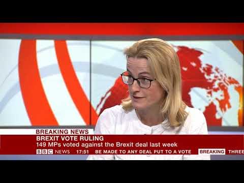 Brexit vote ruling - Dr Hannah White, BBC News