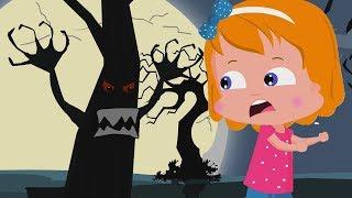 Страшные леса | Хэллоуин рифмы | Детские песни | Kids Halloween Songs | Scary Woods Behind My House
