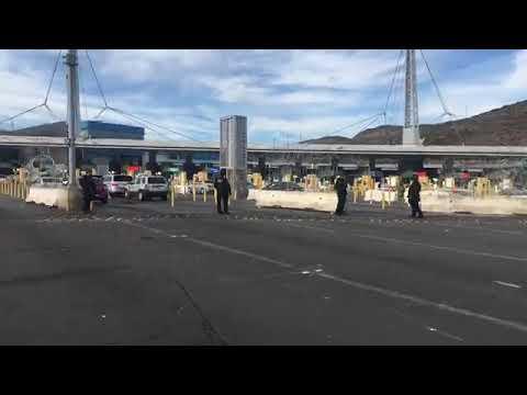Abren acceso vehicular en garita San isidro
