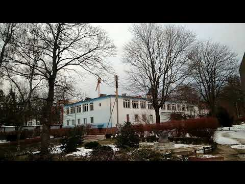 Светлогорск, центр города, водонапорная башня, санаторий, парк; блинная светлогорск; февраль 2018(2)