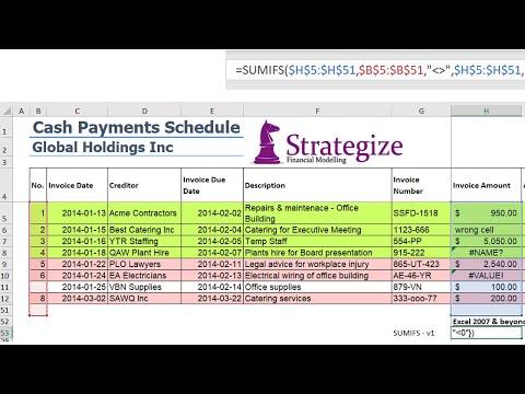 Sum an Excel range - ignoring blank, text or error cells