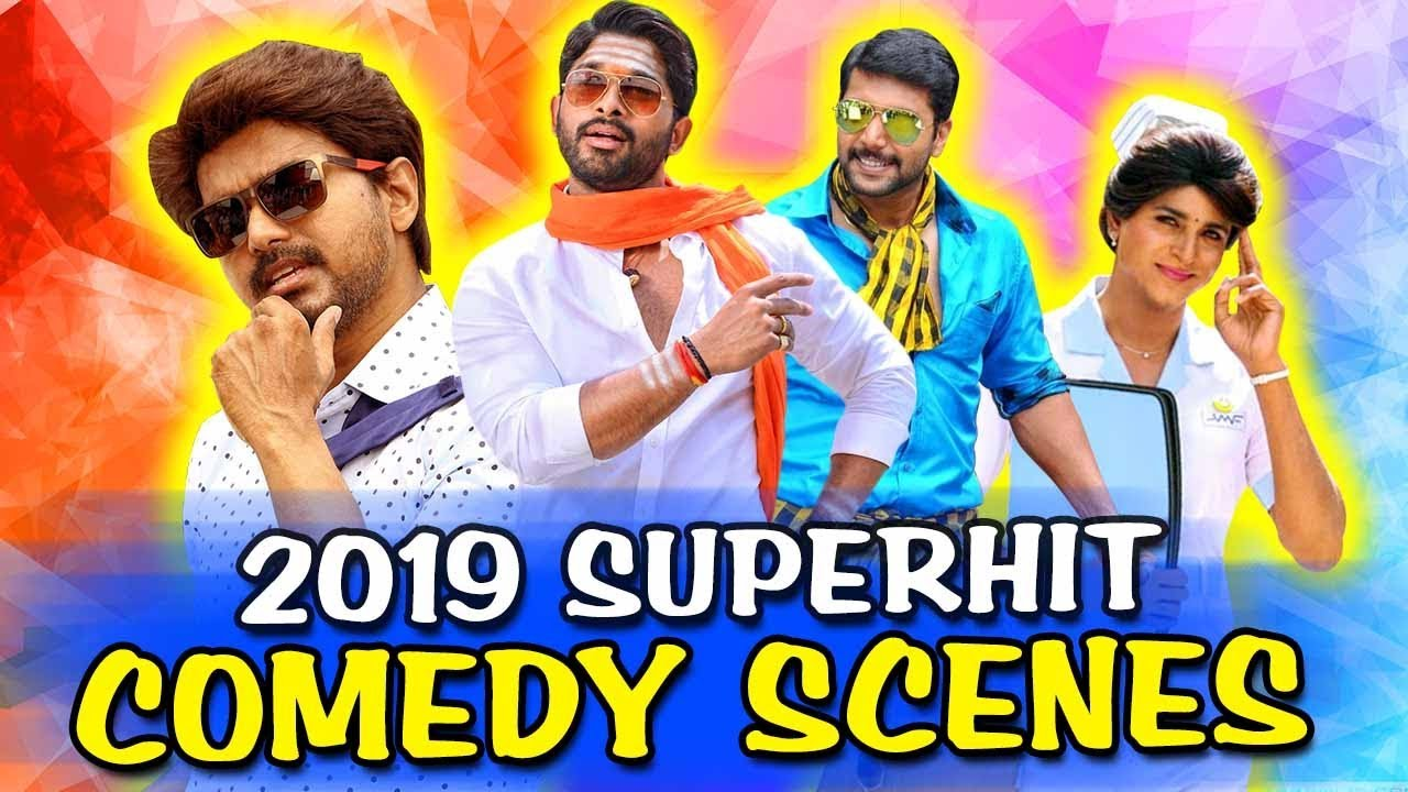 2019 New Hindi Dubbed Superhit Comedy Scenes | Allu Arjun, Vijay, Sivakarthikeyan, Jayam Ravi