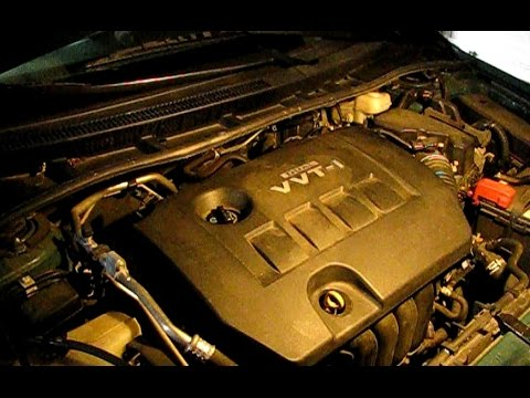 2010 Toyota Corolla S Engine Diagram How To Replace The Serpentine Belt On A 1 8l Toyota