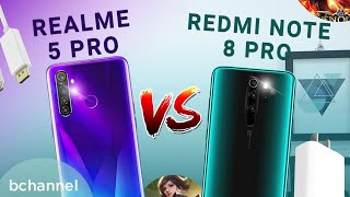 Đánh giá Realme 5 PRO và Redmi Note 8 PRO