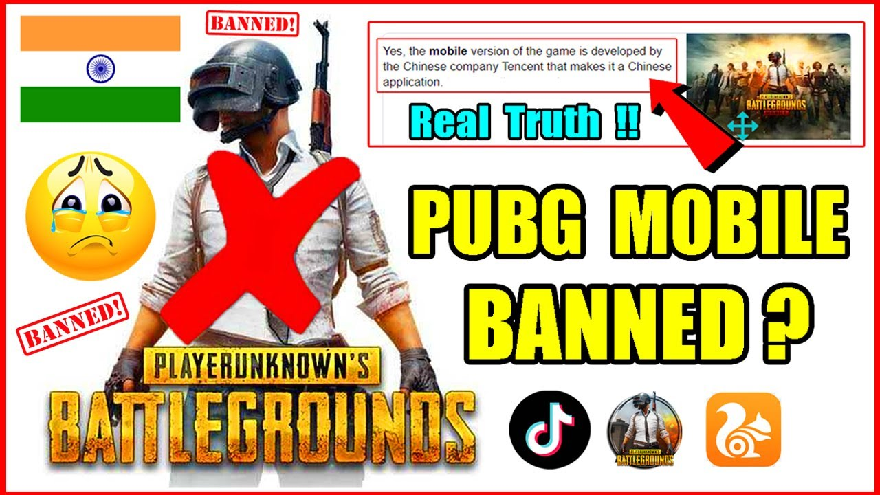 Is Pubg Mobile banned in india 2020 ? Real Truth Of 59 Chinese Apps (Hindi)