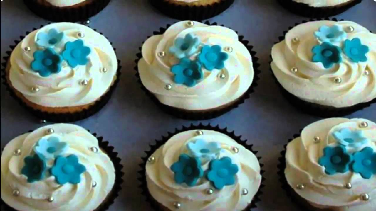 Cupcake Ideas  flower wedding cupcake ideas   YouTube