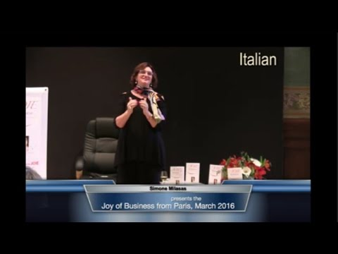 In Italiano - Lancio Internazionale del Libro