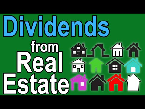 Top 5 Real Estate Dividend Stocks - Dividends for Passive Income