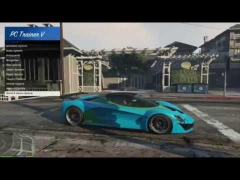 GTA V Mods   PC Trainer V Review