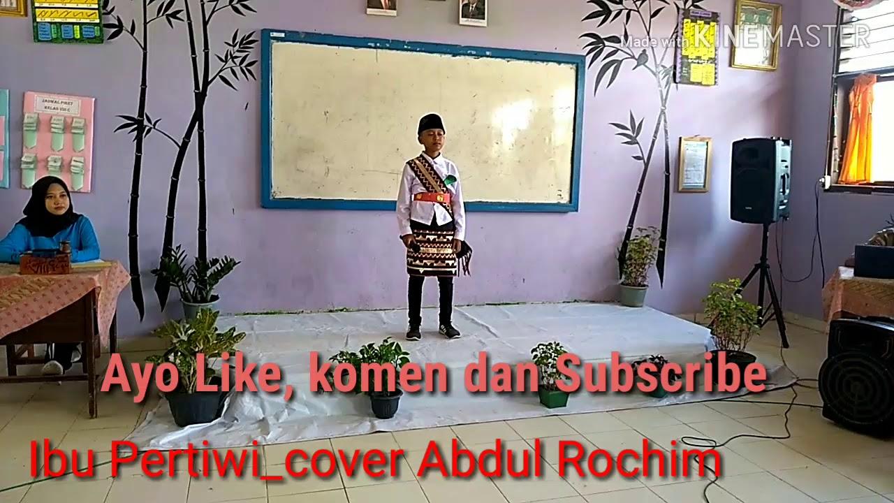 Lagu Ibu pertiwi_Cover siswa SDN1 Bumidaya//Abdul Rochim - YouTube