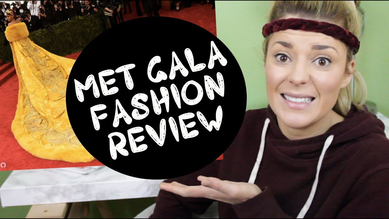 MET GALA FASHION REVIEW \/\/ Grace Helbig  YouTube
