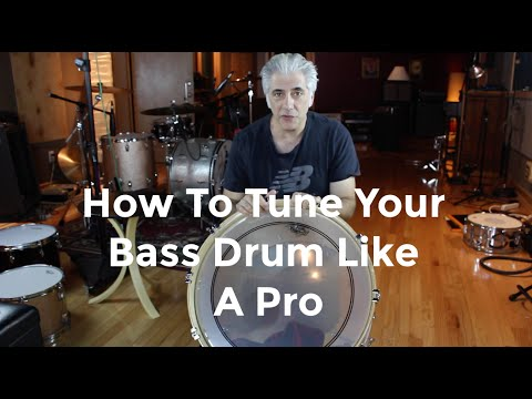 How To Tune Your Bass Drum Like a Pro | Easy Drum Tuning Part 3 of 3